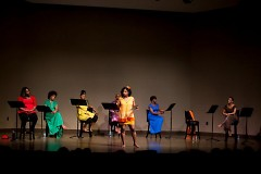 Ebony Road Players held its first dramatic readings in May and June.