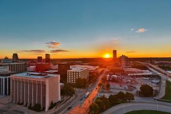 Michigan St. in Grand Rapids, MI.