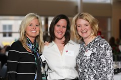Local women pose at last year's Open Hearts Open Doors event.