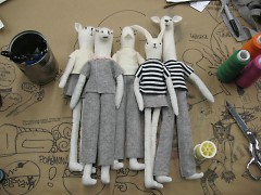 Dolls Created for UICA Store