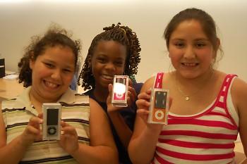 Boys & Girls Clubs Power Hour winners receive iPod Nanos for their hard work!