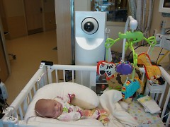Baby Erin and the My Baby View camera