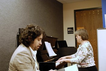 Julio Cano Villalobos and Margi Derks Peterson