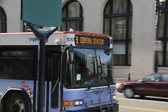 Rapid bus in Grand Rapids