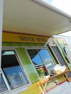 The Silver Spork, a dining venue for locavores on the move