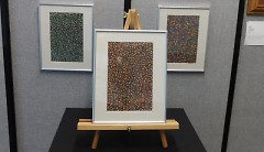 """Part of Tyler's """"Kaleidoscope"""" collection, displayed at ACTion Art 2016"""