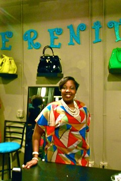 Eboné Farley is the owner of Serenity Boutique
