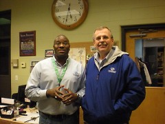Seidman Club Director Mike Remo and Executive Director Pat Gunnin.