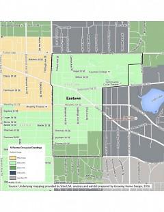 Eastown renters map
