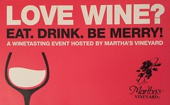 Eat. Drink. Be Merry! A Winetasting Benefit for St. Cecilia Music Center hosted by Martha's Vineyard