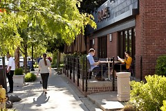 Grove Restaurant outdoor seating