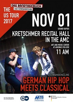 EINSHOCH6 Live! German Hip Hop Meets Classical - at Aquinas!