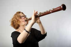 Ellen Sherman has served as principal oboist of the Grand Rapids Symphony since 2001.