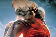 ET hugs Elliott in 'E.T. the Extra-Terrestrial.'
