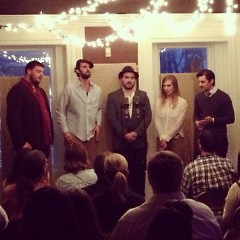 The Wallace Collective performing during BARE