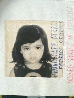 Zyra Castillo as a little girl