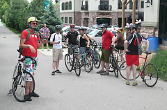 Cyclers staging at last year's event