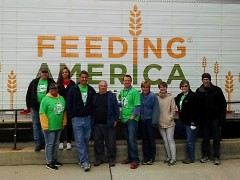Stamp Out Hunger brought letter carriers, food bankers and Rapidians together to address food insecurity.
