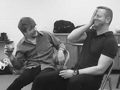 (L) Colin Maxwell Beerens as Alan Raleigh (R) Matthew Swartz as Michael Novak