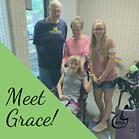 Meet Grace just one of many pediatric clients at AIM