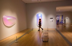 """GRAM's exhibit for ArtPrize, """"Past, Present, Future"""" is up and crowd-free for you right now."""