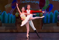 """Yuka Oba and Nicholas Schultz dance in Grand Rapids Ballet's """"The Nutcracker"""""""