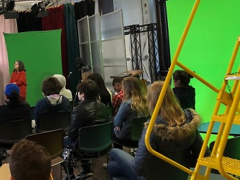 Students of all ages and abilities enroll in media classes at GRTV.