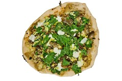 The Green Wagon Veggie Pizza at Cvlt Pizza, April 2013