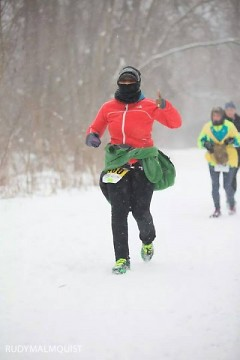 Running in the Grand Rapids Groundhog
