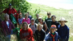 Folks of all ages are welcome to volunteer at Michigan's 103 state parks and recreation areas.
