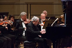 Pianist Nelson Freire performs with the Grand Rapids Symphony in his fifth appearance in Carnegie Hall.