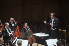 Music Director Marcelo Lehninger leads the Grand Rapids Symphony in Lehninger's second appearance in Carnegie Hall.