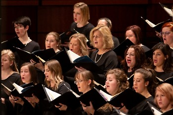 Women of the Grand Rapids Symphony Chorus will sing Mahler's Third Symphony on April 12-13, 2019