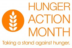 September is Hunger Action Month.