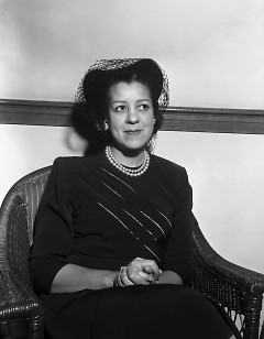 Helen Jackson Claytor, the first African-American elected president of the local YWCA in 1949