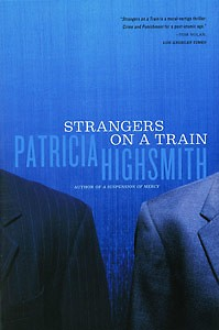 """Patricia Highsmith's """"Strangers on a Train"""" is the current book for the #ReadSoHard book club."""