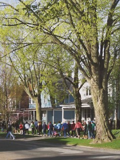 The Hunger Walk has a beautiful walk route.
