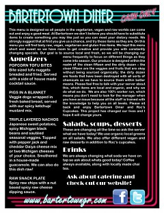 Bartertown's launch menu