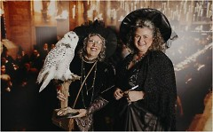 Potterheads in costume at the Yule Ball