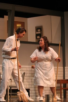 "I played Nurse Warren in ""One Flew Over the Cuckoo's Nest"""