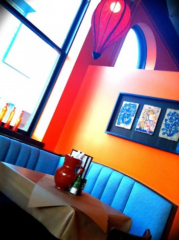 Find eclectic decor at The Cafe and flamenco at The Bistro