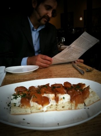 Apps are delightful. Go with several small plates in lieu of a main entree.