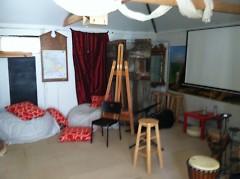 The Prayer Room at the Stockbridge Boiler Room.