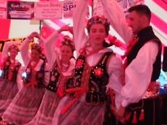 Polka dancers at Grand Rapids' Polish Festival