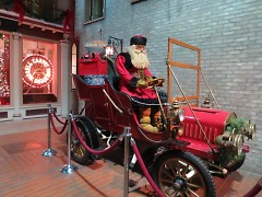 Santa Claus visits the Streets of Old Grand Rapids