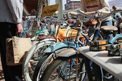 Bicycles at the Vintage Street Market