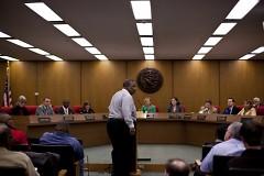 Concerned citizen addresses city commissioners