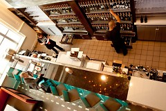 Inside Reserve, the cruvinet system remains ready to serve over one hundred wines