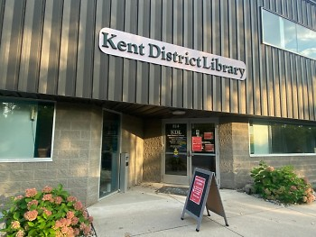 Kent District Library's Service and Meeting Center in Comstock Park.