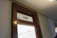 Room 420 Transom